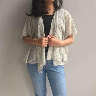 FLORAL CHIFFON OUTER