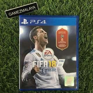 [USED] PS4 FIFA 18 - (GAMEZMALAYA) | PS4 USED GAMES
