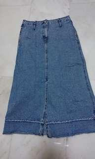 Armani jeans skirt made in Italy