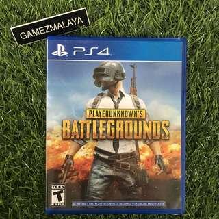 [USED] PS4 PUBG - (GAMEZMALAYA) | PS4 USED GAMES