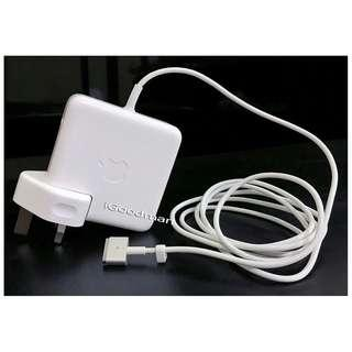 Magsafe 2 60W Charger Genuine Apple Power Adapter for Macbook Pro Original Magsafe2 (T-Shape Connector)