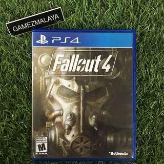 [USED] PS4 FALLOUT 4 - (GAMEZMALAYA) | PS4 USED GAMES.