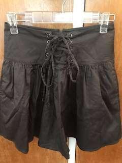 Sportsgirl khaki tied skirt