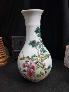 Eggshell Porcelain Old Flower Vase