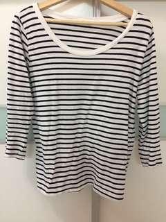 Zara Authentic Stripes Top #MMAR18