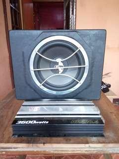 Kicx V12 Mosfet Power Amplifier (Sound System Car - Mobil )