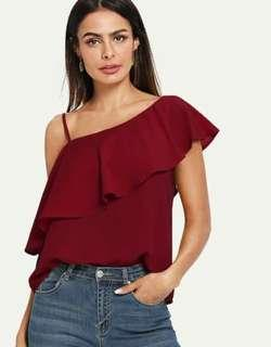ONE STRAP BLOUSE