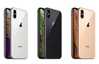 Recontract IPhone XS or XS Max