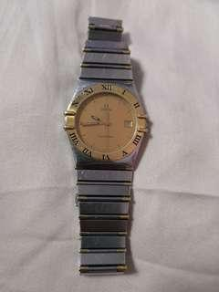 Omega Constellation Men's Gold Watch