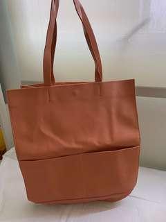 Zara totebag leather