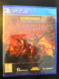 PS4 *New & Sealed* Warhammer Vermintide