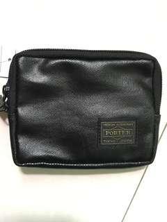 Porter Wallet -PU leather black