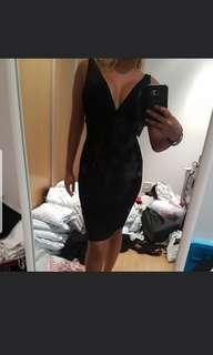 Black bandage Bodycon Dress