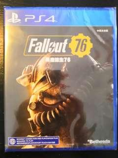 PS4 *New & Sealed* Fallout 76
