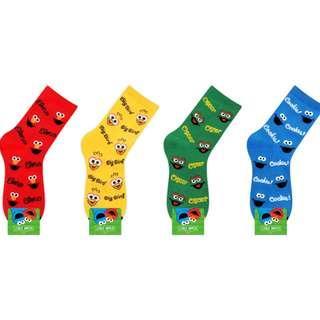 [INSTOCK] Sesame Street Long Sock B