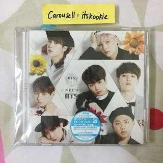 [WTS] BTS I NEED U JAPAN ALBUM (regular version)
