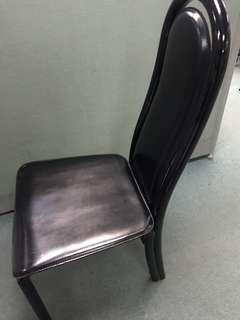 Italian made real leather dining chair $300 each