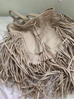 Forever 21 fringe backpack