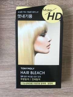 Tony Mony hair bleach