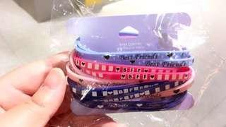 Claire's friendship bracelets set