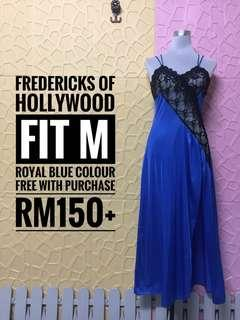 F.O.C  Fredericks of hollywood with purchase above RM150++