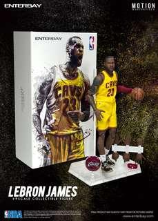 ENTERBAY: 1/9 NBA Lebron James 小皇帝 詹姆士