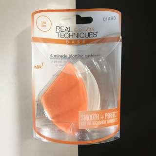 Real Techniques Blotting Cushions (2 Cushions)