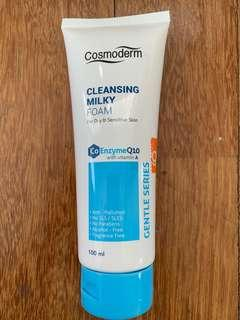Cosmoderm Cleansing Milky Foam Cleanser