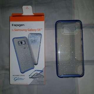 S8 Spigen Neo Hybrid Crystal Glitter Case (Blue Quartz)