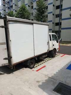 Looking for 10ft lorry with box contract job