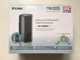 🚚 D-Link Wireless AC1750 Dual Band Router