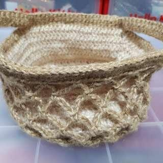 🚚 苧麻編織籃