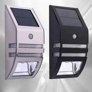 Motion Sensor Wall Solar Light