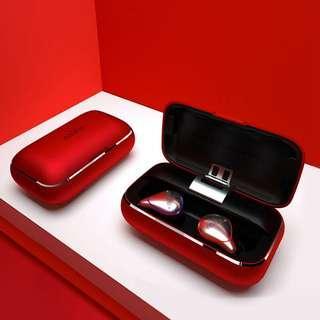 Mifo O5 Pro版  真無線全頻動鐵藍牙耳機 (紅色充電盒)