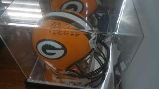 Signed Brett Favre authentic helmet