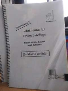 🚚 Secondary 2 Maths Exam Package