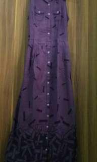 Pre ❤️ Overall dress (tanpa lengan)