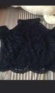 Karimadon Lace Crop Top