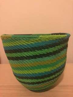 Oxfam handwoven basket