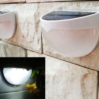 Semi Rounded Wall Solar Light