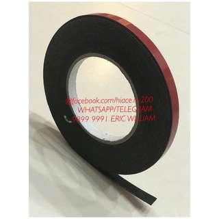 Nissan NV200 - NV350 - Toyota Hiace - Black Double Side PE Form Adhesive Tape / Toyota - Nissan Accessories >>READY STOCKS!!