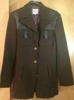 🚚 時尚  襯衫 皮革 外套