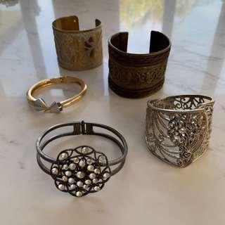 $150 Grecian cuff set jewellery