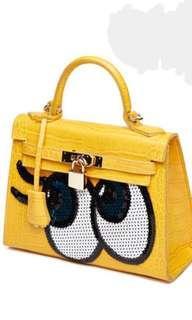 """""""Shy Girl"""" Handbag - Yellow"""