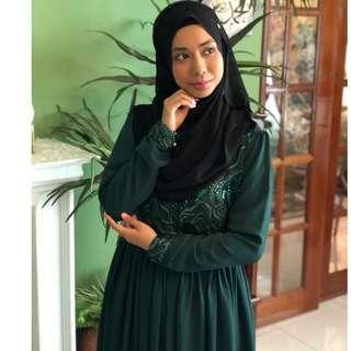 Muslimah Dress Chiffon Material!