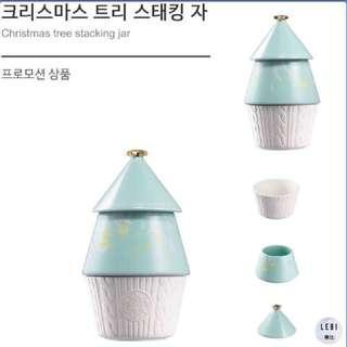 🚚 (附韓國星巴克聖誕節紙盒)🔥現貨秒出🔥韓國星巴克 聖誕樹糖果盒