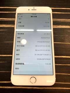 🚚 iPhone 6+16GB 金 (9成新)
