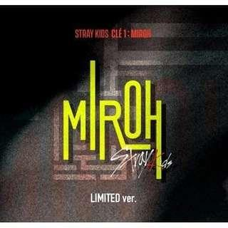 💕Stray Kids💕 [4th Mini Album-CLE 1:MIROH] 🌟LIMITED EDITION🌟
