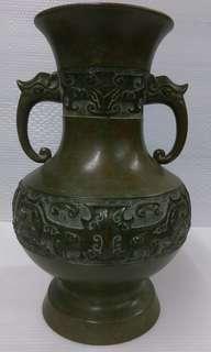 🚚 老件銅製花瓶
