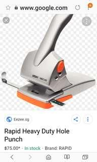 🚚 Rapid Hole Punch